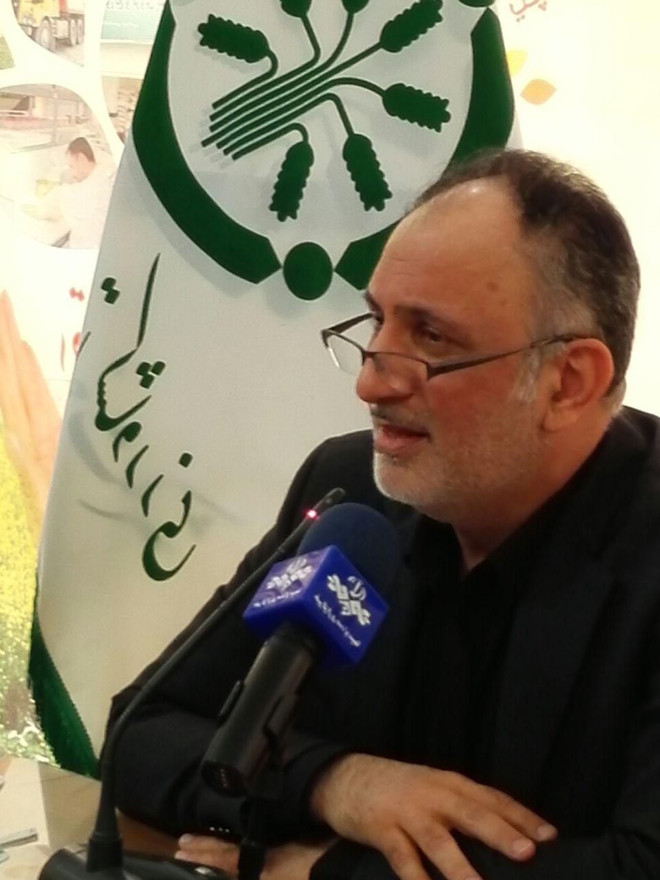 حمید رسولی مدیر عامل شرکت خدمات حمایتی کشاورزی