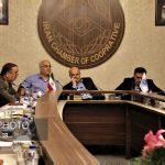 گزارش تصویری از حضور معاون رئیس جمهور در اتاق تعاون ایران