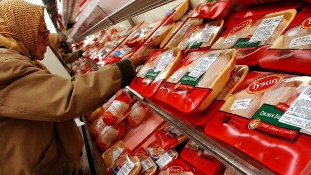 فراخوان آمریکاییها برای گوشت مرغ منجمد