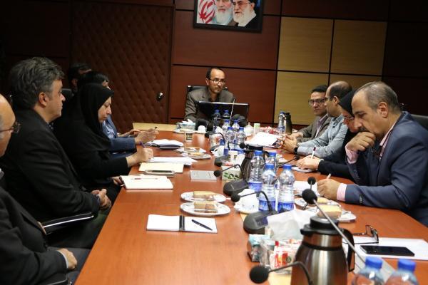 جلسه رییس سازمان دامپزشکی کشور