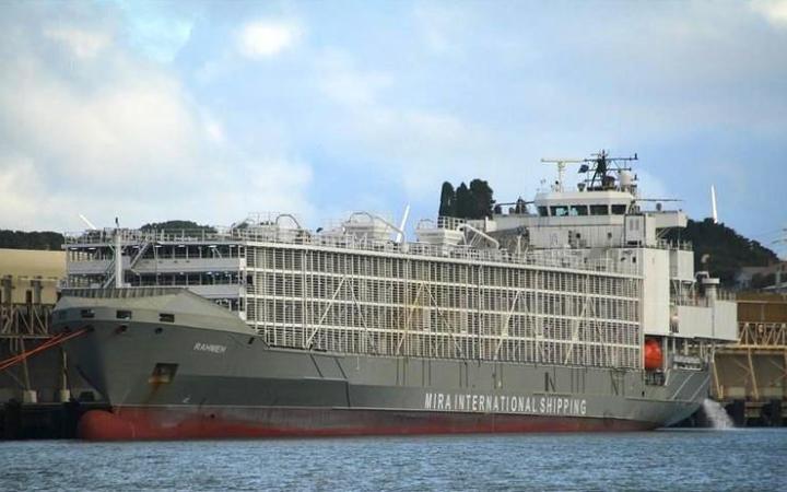 کشتی حامل دام در آبهای ژاپن غرق شد